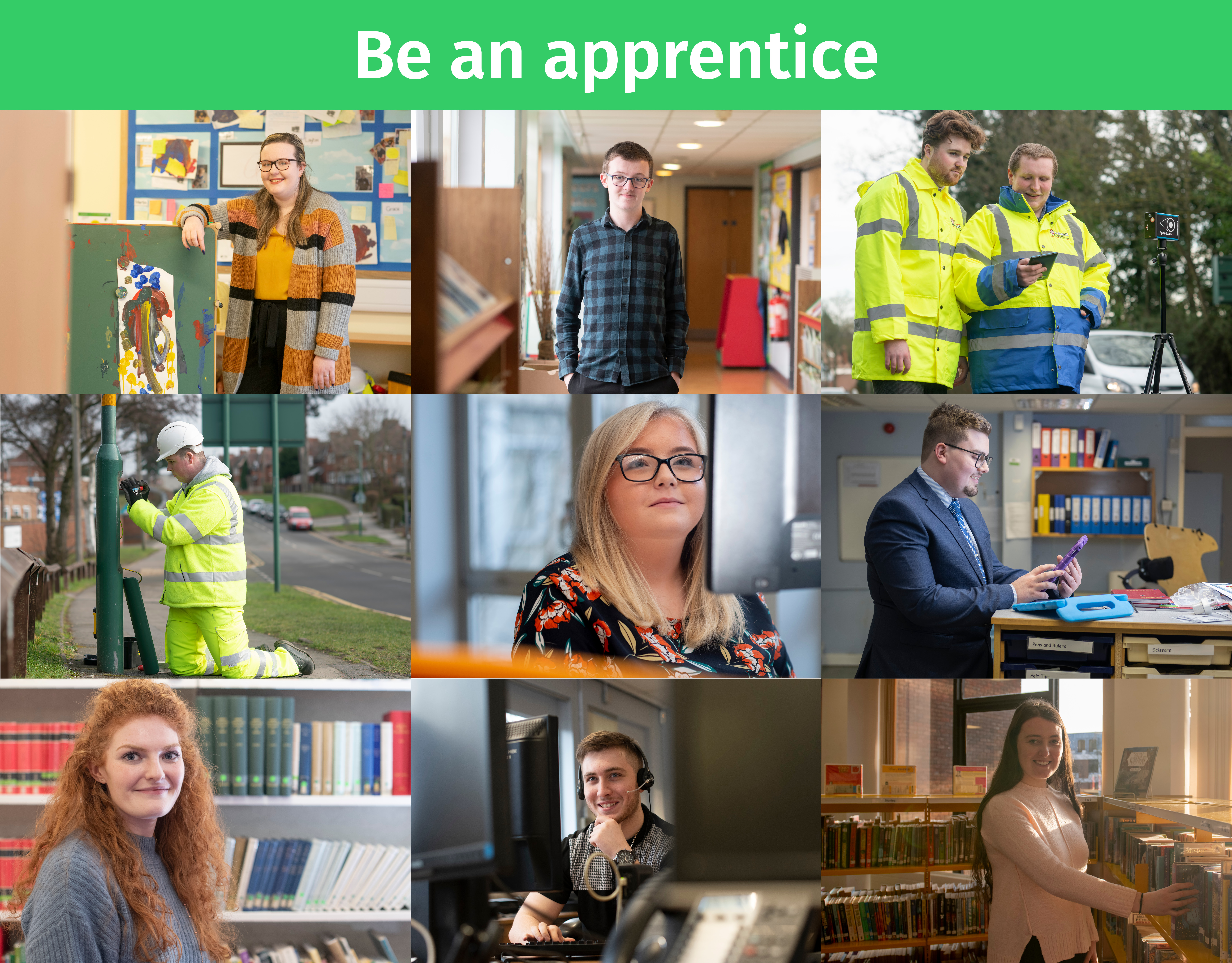 Apprentice picture montage