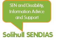 Solihull SENDIAS (Special Educational Needs and Disability Information, Advice and Support Service)
