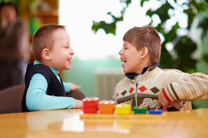 relation between kids with disabilities in preschool
